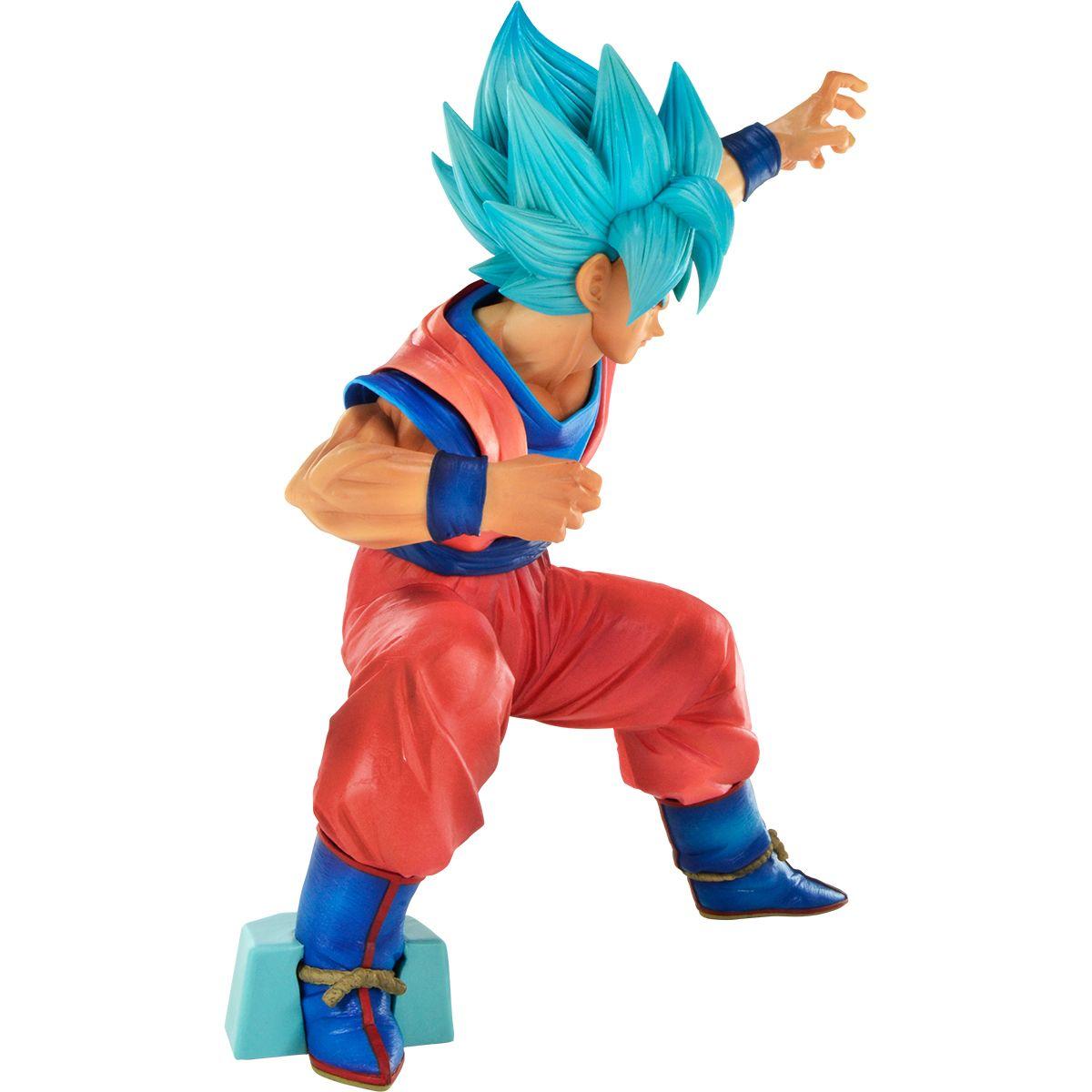 Action Figure Goku Blue (Big Size): Dragon Ball Super (Boneco Colecionável) - Banpresto