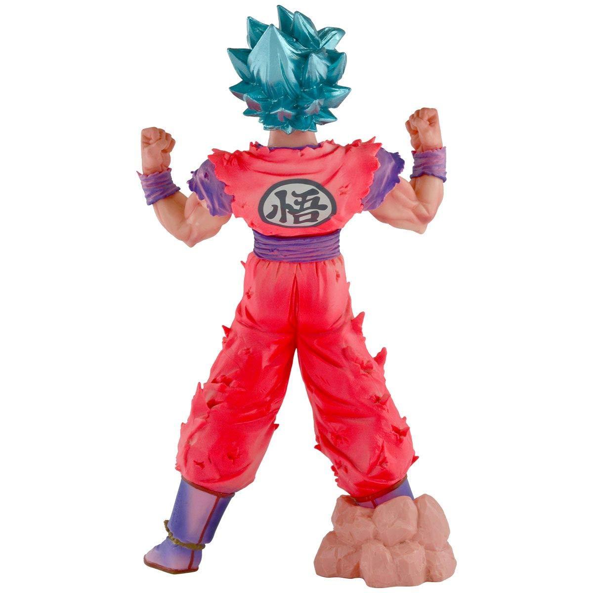 Action Figure Goku Blue Kaiohken: Dragon Ball Super (Boneco Colecionável) - Banpresto