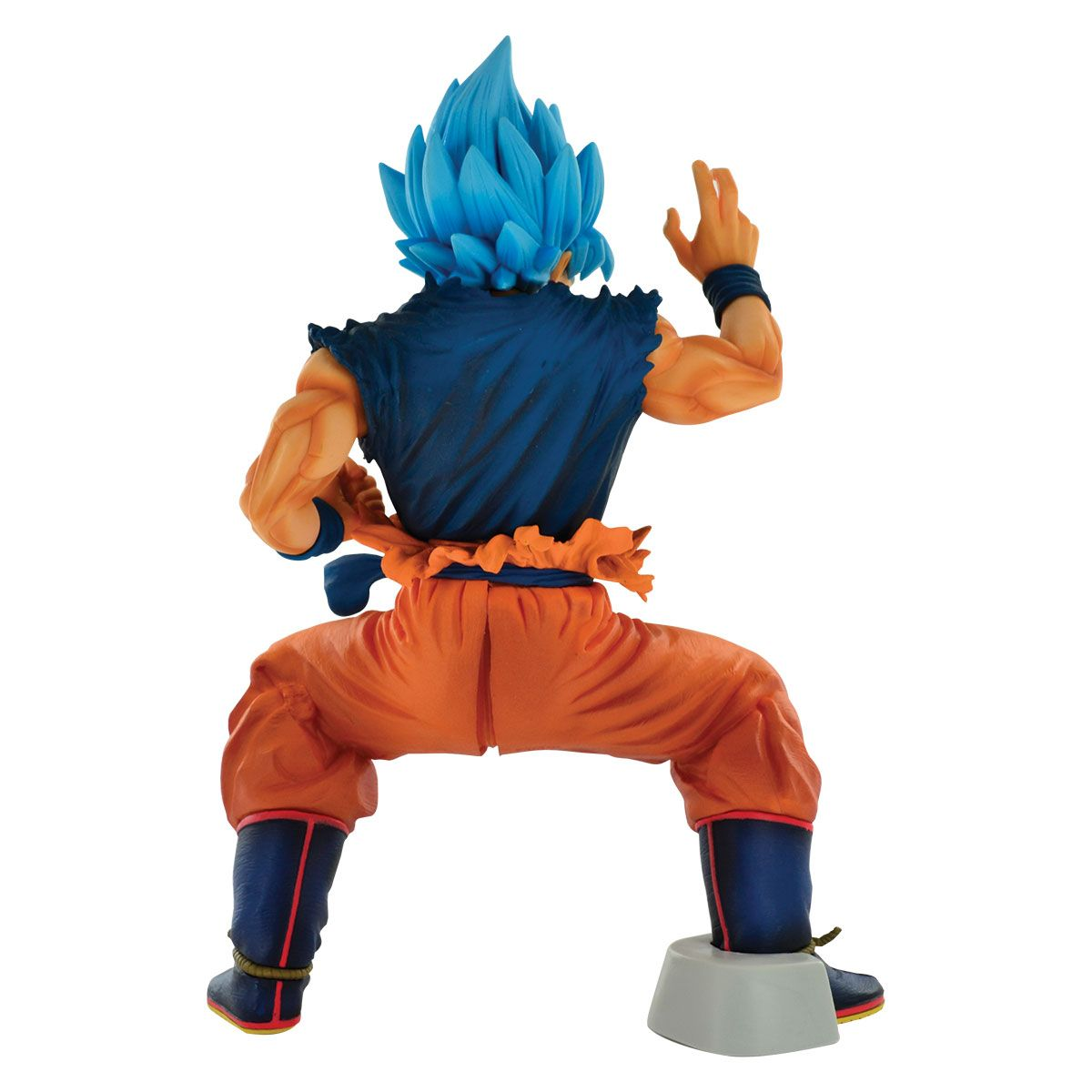 Action Figure Goku Blue (Masterlise): Dragon Ball Super (Boneco Colecionável) - Banpresto