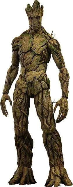 Action Figure Groot Guardiões da Galáxia Guardians of the Galaxy MMS253 Escala 1/6 - Marvel Comics