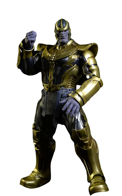 Action Figure Guardians of the Galaxy Thanos: Guardiões da Galáxia Thanos (Escala 1/6) - Hot Toys