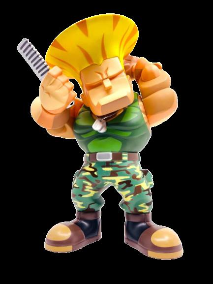 PRÉ VENDA: Action Figure Guile: Street Fighter (Bulkyz Collection) - Big Boys Toys