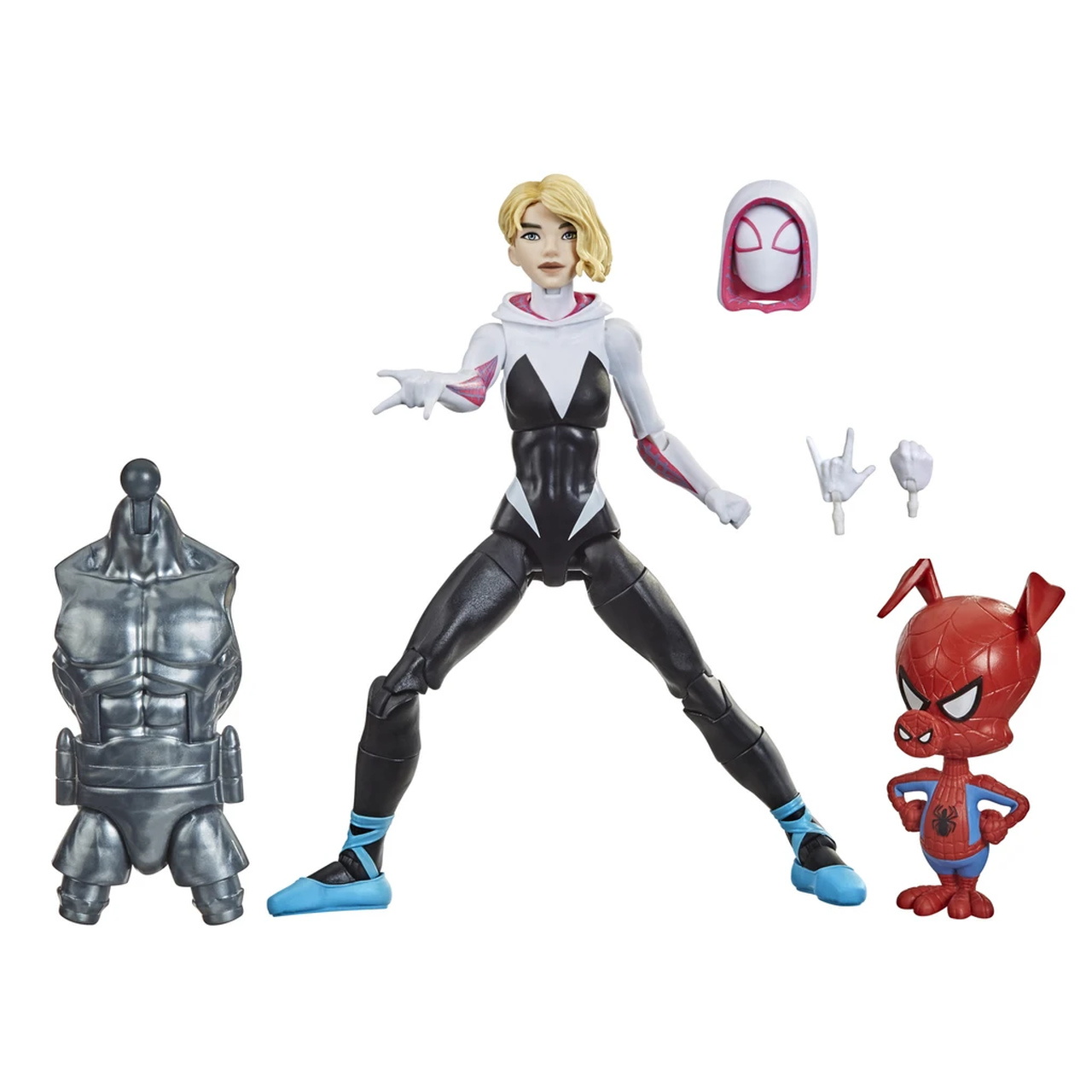 Action Figure Gwen Stacy: Homem-Aranha no Aranhaverso (SpiderMan Into The SpiderVerse) Marvel Legends Series - Hasbro