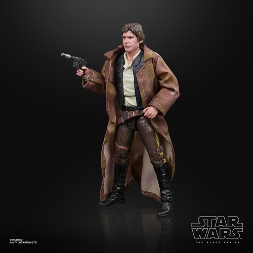 Action Figure Han Solo Endor: Star Wars The Black Series Return Of The Jedi E9364 - Hasbro