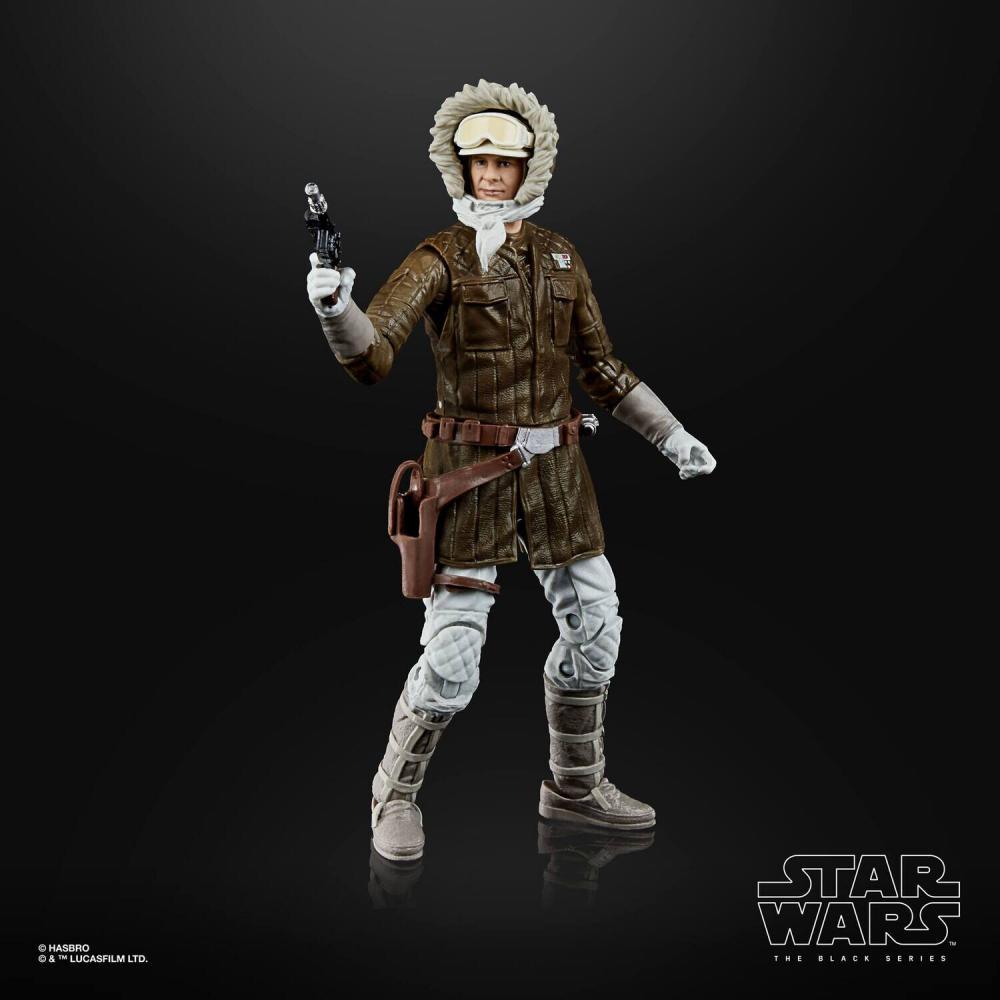 Action Figure Han Solo (Hoth): Star Wars (The Black Series 2) 50 LucasFilm Ltd - Hasbro