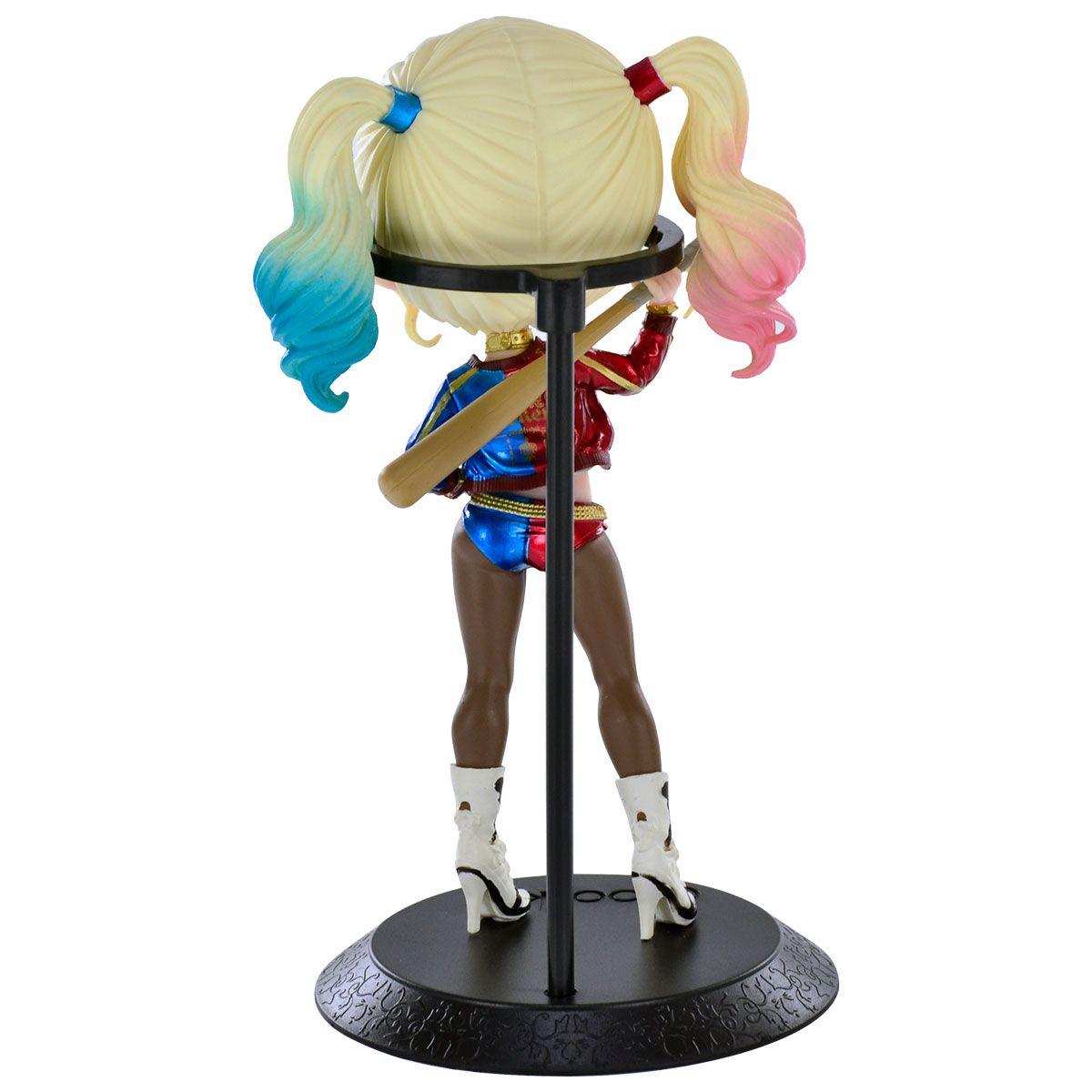 Estátua Harley Quinn (Alerquina) (Qposket): Esquadrão Suicida (Suicide Squad) (Boneco Colecionável) - Banpresto