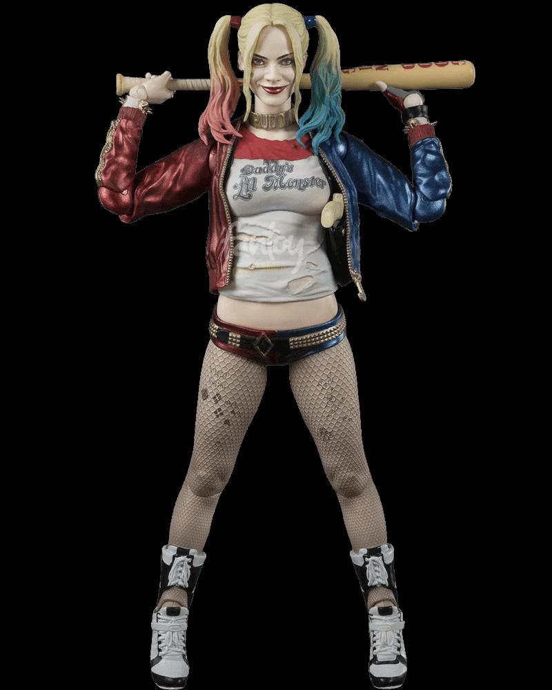 Boneco Harley Quinn: Esquadrão Suicida (Suicide Squad) S.H.Figuarts - Bandai