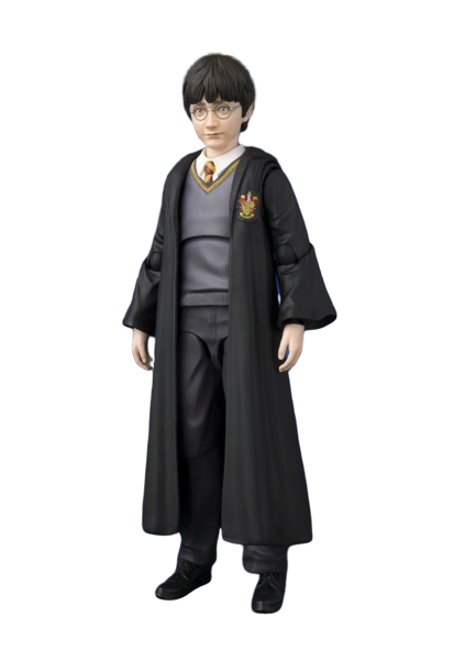 Action Figure Harry Potter: Harry Potter e a Pedra Filosofal (Harry Potter and the Sorcer) S.H. Figuarts (Bandai) - CD