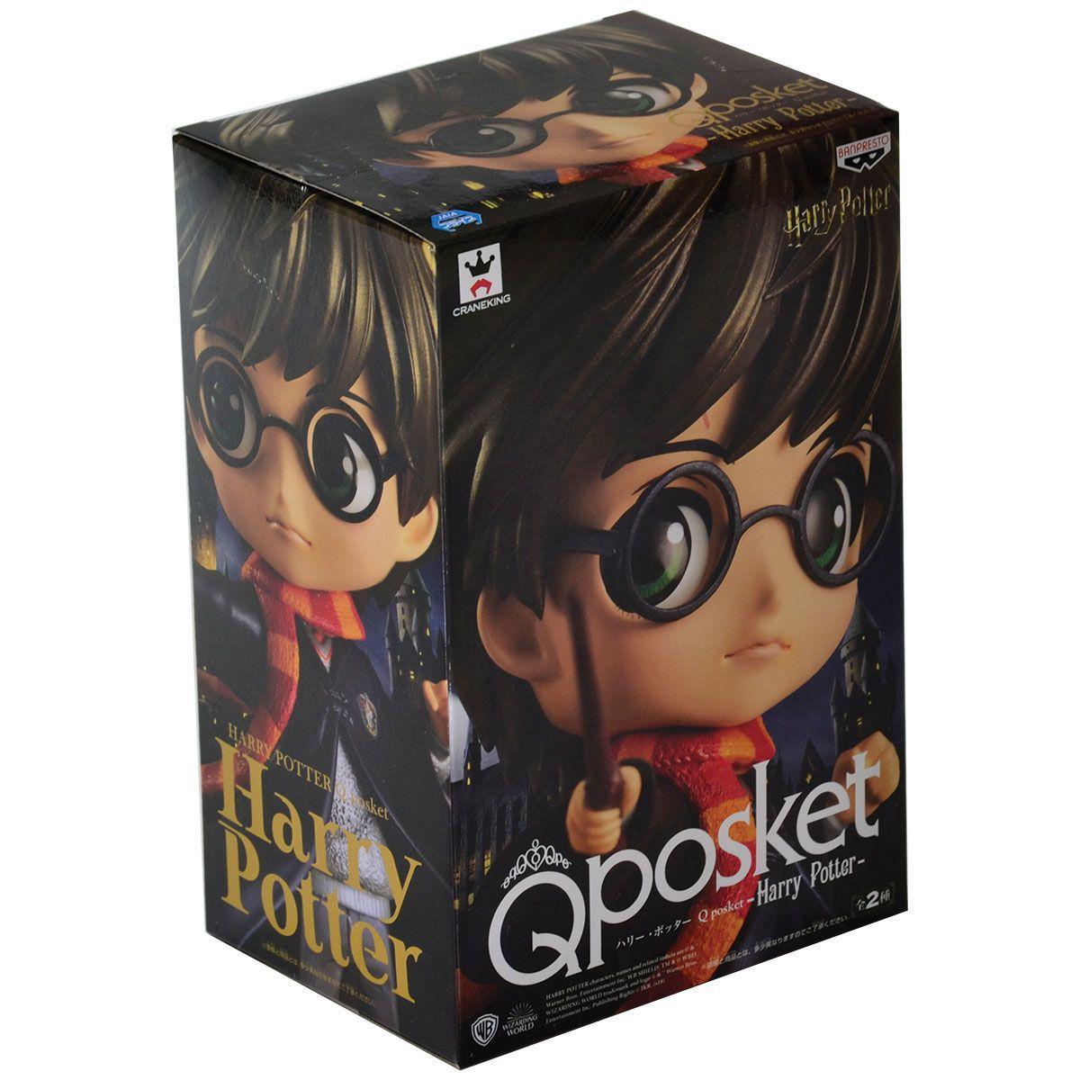 Estátua Harry Potter: Harry Potter Qposket - Banpresto