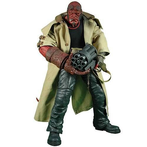 Action Figure Hellboy: Hellboy II O Exército Dourado (The Golden Army) Boneco Colecionável - Mezco - CG