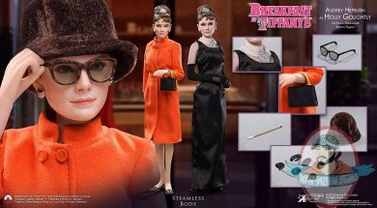 Action Figure Holly Golightly: Bonequinha de Luxo (Breakfast at Tiffanys) Escala 1/6 - Star Ace