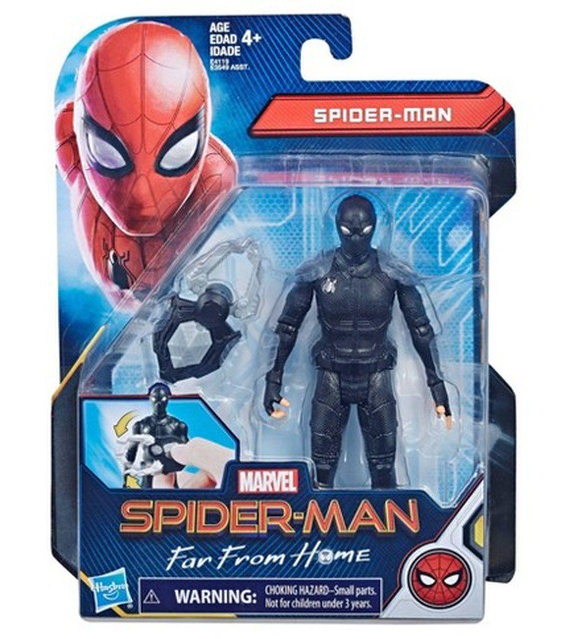 Action Figure Homem-Aranha 6'' (Spider Man Stealth Suit): Longe De Casa (Far From Home) Boneco Colecionável - Hasbro