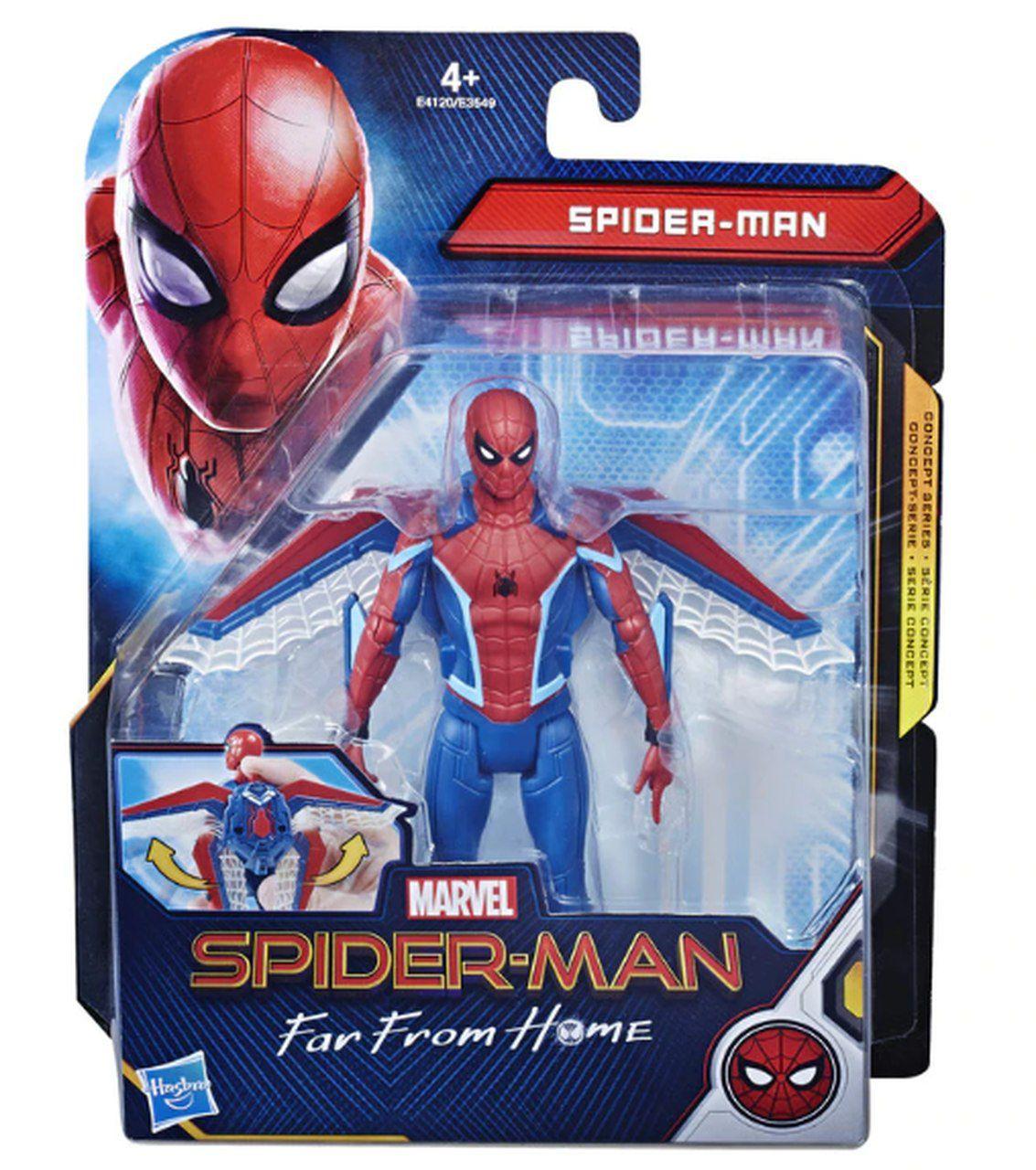 Action Figure Homem-Aranha Missão de Vôo 6'':Longe De Casa (Spider-Man Far From Home) Boneco Colecionável - Hasbro