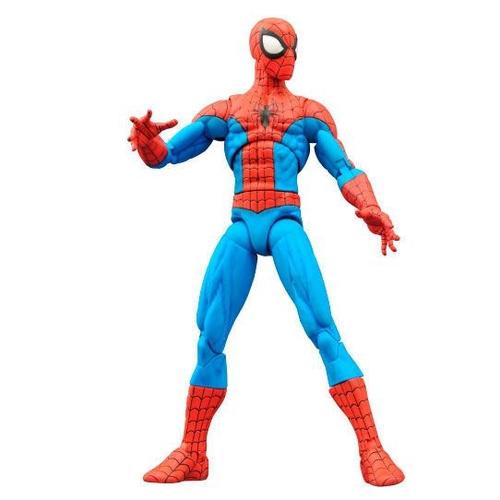 Action Figure Homem Aranha Spider-Man: Espetacular Homem Aranha The Amazing Spider-Man Marvel Select - Diamond Select