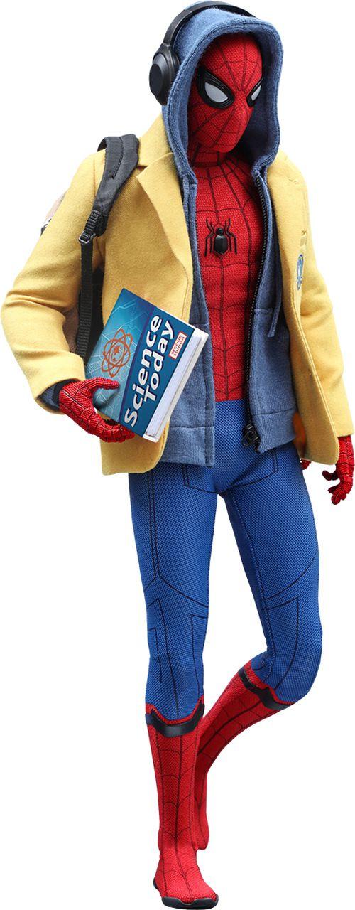 Action Figure Homem-Aranha (Spider-Man): Homem-Aranha De Volta ao Lar (Homecoming) Deluxe Version (MMS426) Escala 1/6 - Hot Toys - CDL