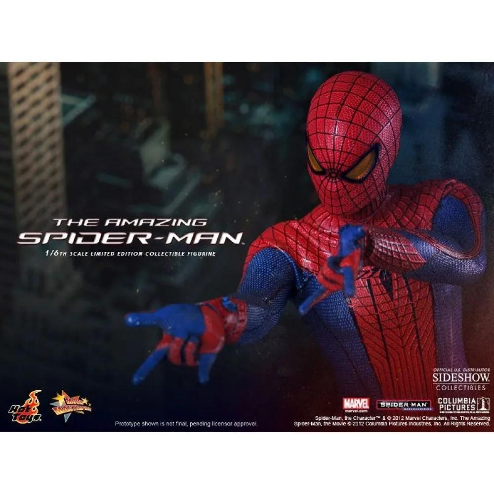 Action Figure Homem Aranha: The Amazing Spider-Man MMS179 Escala 1/6 - Hot Toys