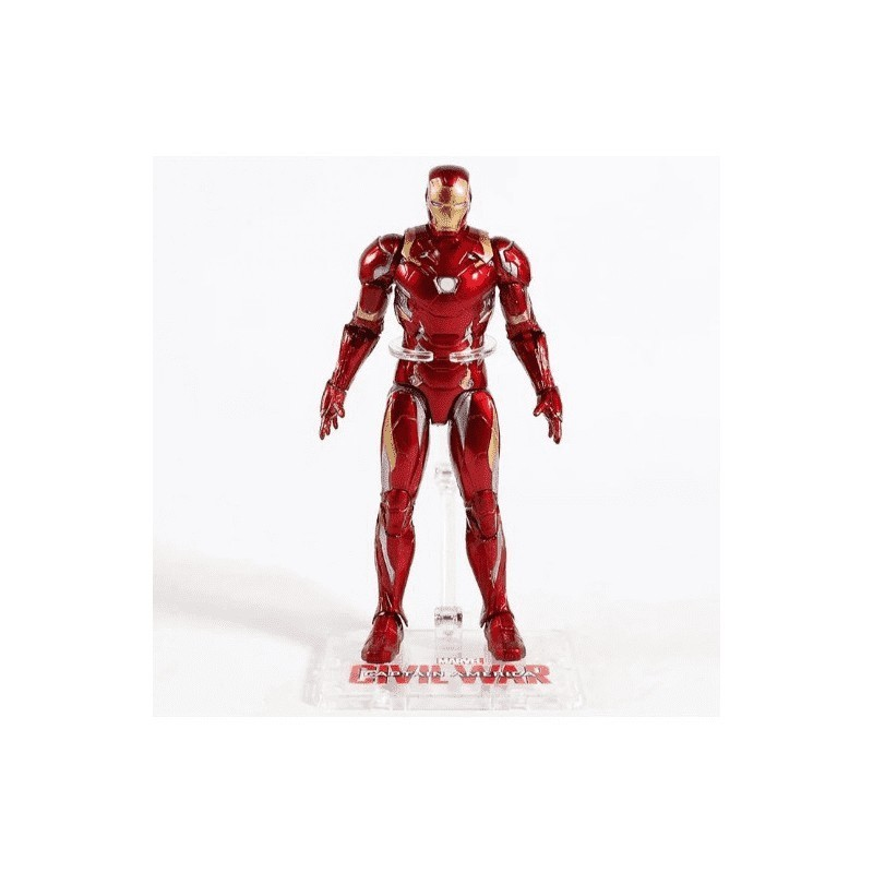Action Figure Homem de Ferro (Iron Man): Guerra Civil (Civil War) - Western Animation