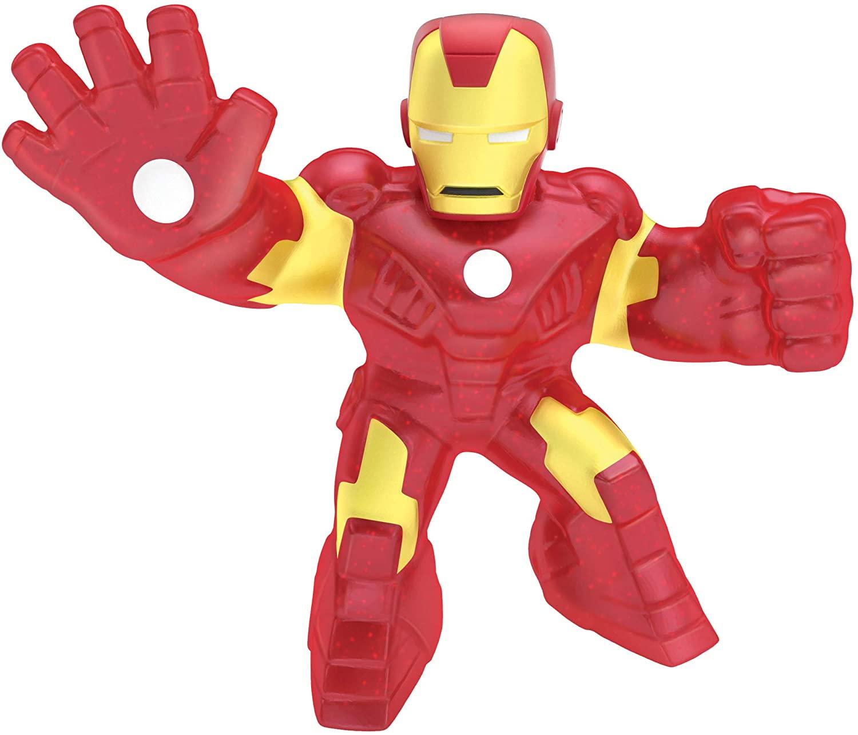Action Figure Homem De Ferro (Iron Man): Heroes of Goo Jit Zu Marvel - Sunny