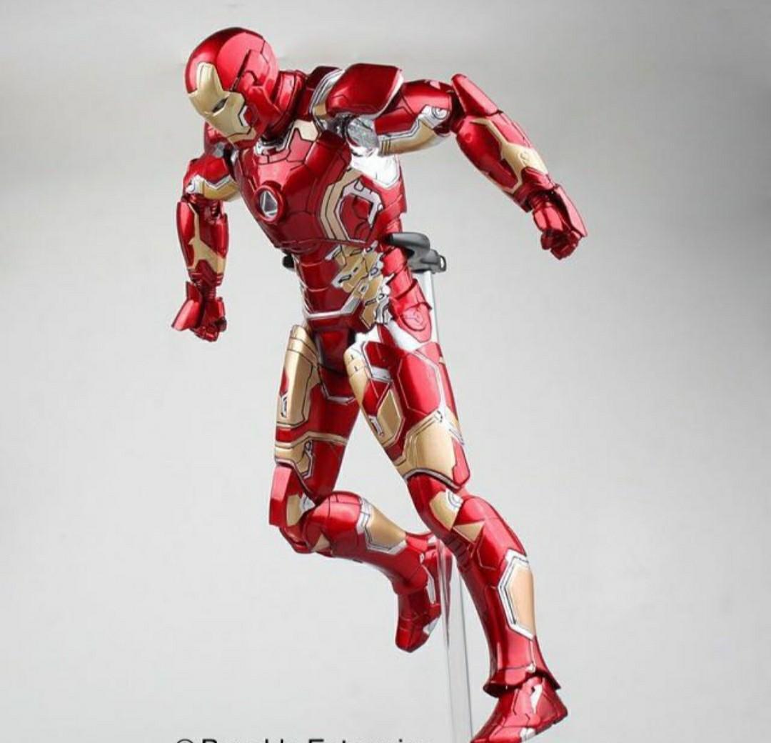Action Figure Homem De Ferro Iron Man Mark 43: Vingadores A Era De Ultron Die Cast Escala 1/6 Marvel - Legend Creation