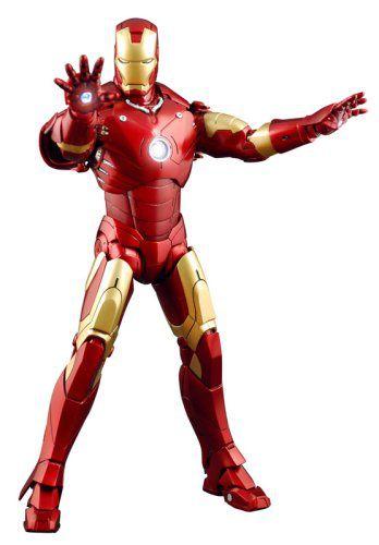 Action Figure Homem de Ferro (Iron Man Mark III): Homem de Ferro (Iron Man) Escala 1/6 (MMS75) Boneco Colecionável - Hot Toys