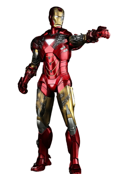 Action Figure Homem de Ferro (Iron Man) Mark VI: Homem de Ferro 2 (Iron Man 2) MMS132 (Escala 1/6) - Hot Toys - CDL