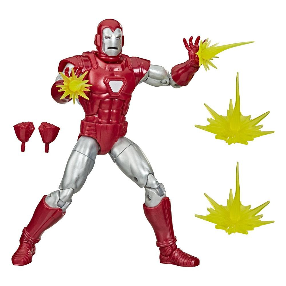 Action Figure Homem de Ferro (Iron Man): Marvel Legends Series - Hasbro