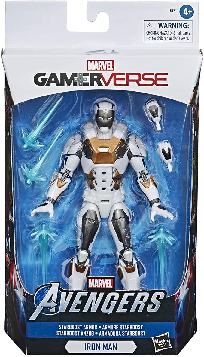 "Action Figure Homem de Ferro(Iron Man): (Marvel Legends Series) ""Marvel's The Avengers"" Game Verse - Hasbro"