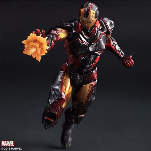 Action Figure Homem de Ferro Iron Man Vingadores Avengers Marvel Kai Escala 1/6 Play Arts  - EVALI