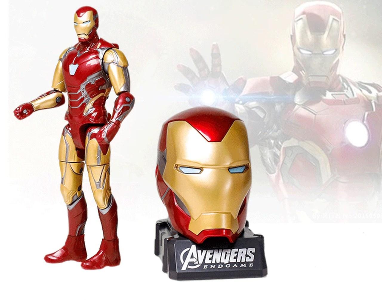 Action Figure Homem de Ferro Iron Man: Vingadores Ultimato Avengers End Game - Marvel - MKP