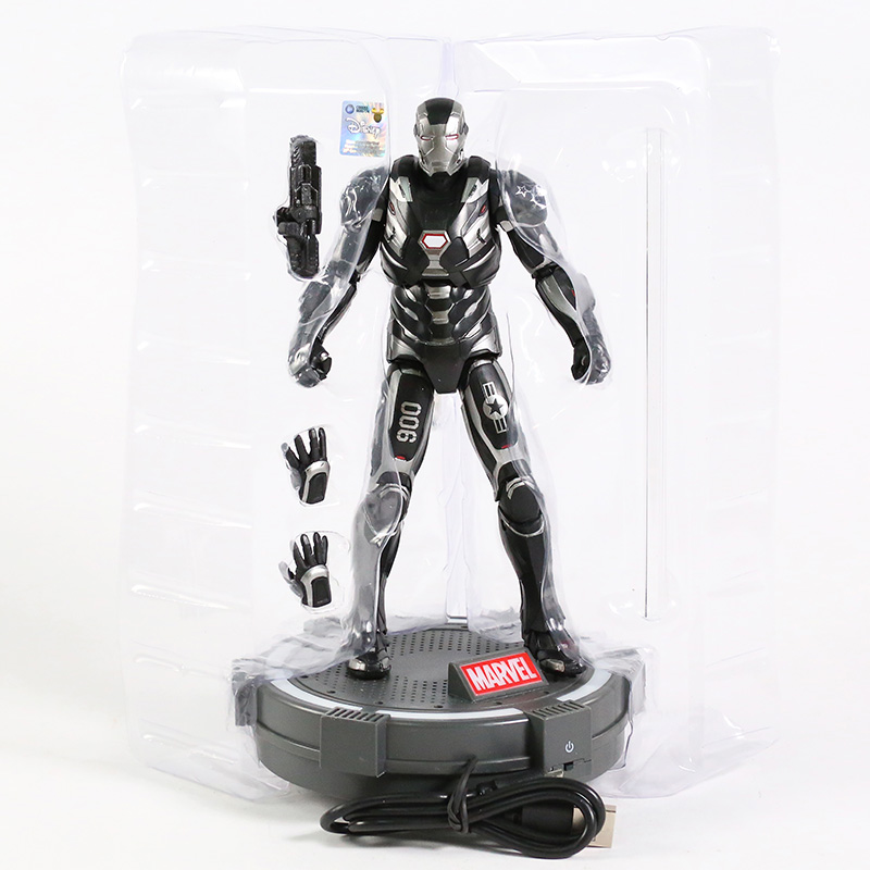Action Figure Homem de Ferro Iron Man War Machine: Vingadores Ultimato Avengers End Game - MKP