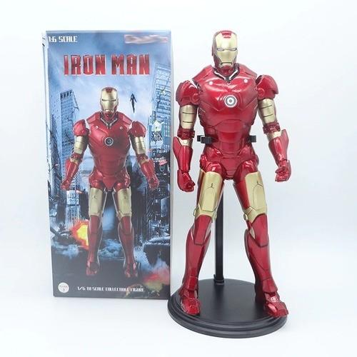 "Action Figure  ""Homem de Ferro Mark 3"" (Iron Man Mark 3): Homem de Ferro  (Iron Man ) Escala 1/6  - Empire Toys"