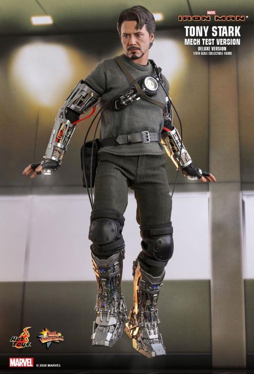 Pré Venda: Action Figure: Homem de Ferro - Tony Stark (Mech Test Ver.): Iron Man: MMS582: (Escala 1/16) - Hot Toys