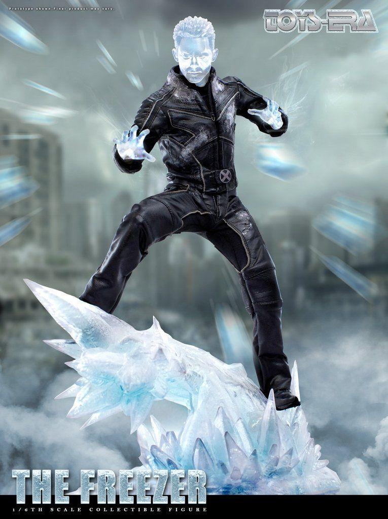 Action Figure Homem de Gelo (Iceman): X-Men O Confronto Final (Escala 1/6) - Toys Era