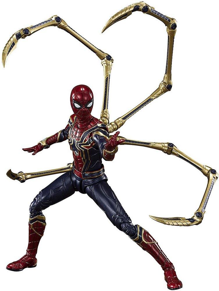 Action Figure Homen-Aranha (Iron Spider Final Battle): Vingadores Ultimato (Avengers Endgame) S.H.Figuarts - Bandai