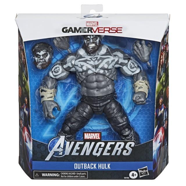 "Action Figure Hulk: (Marvel Legends Series) ""Marvel's The Avengers"" Game Verse - Hasbro"