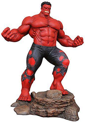 PRÉ VENDA Action Figure Hulk Vermelho (Red Hulk): Marvel Gallery - Boneco Colecionável - Diamond Select  - Toyshow Geek e Colecionáveis Tudo em Marvel DC Netflix Vídeo Games