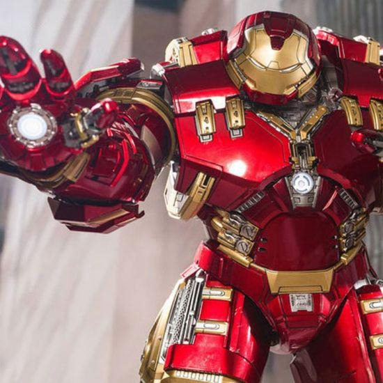 Action Figure Hulkbuster  Homem de Ferro Iron Man Mark 44 Vingadores A Era de Ultron Avengers Age Of Ultron Marvel Escala 1/9 DFS012 - King Arts- EVALI