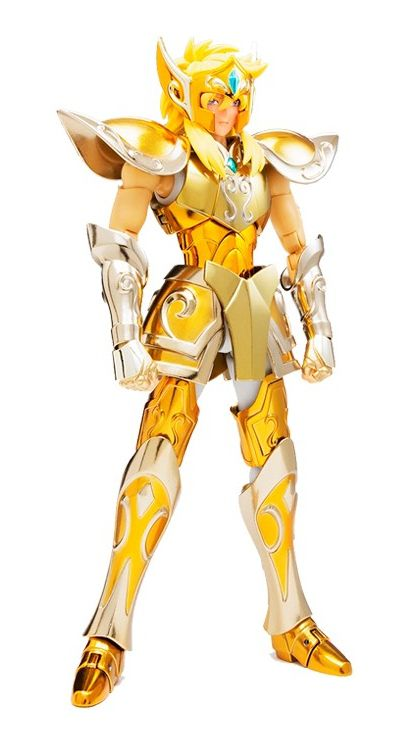 Action Figure Hyoga de Aquário (Aquarius Hyoga): Os Cavaleiros do Zodíaco (Saint Seiya) Cloth Myth EX - Bandai