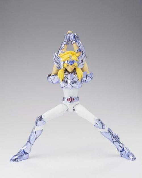 Action Figure Hyoga de Cisne (Cygnus Hyoga): Os Cavaleiros do Zodíaco (Saint Seiya) Cloth Myth EX - Boneco Colecionável - Bandai