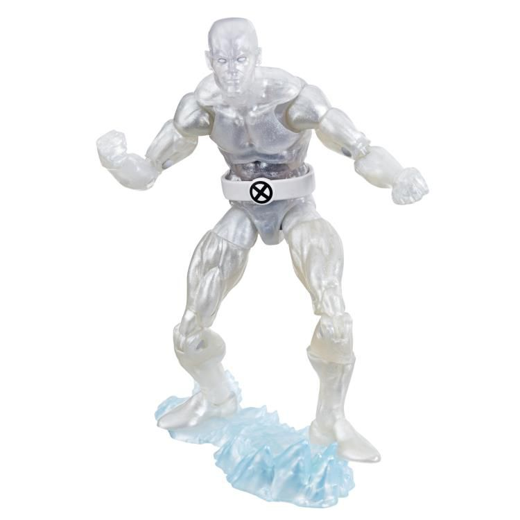 Action Figure Iceman: The Uncanny X-Men Marvel Legends (80th Anniversary) Boneco Colecionável - Hasbro