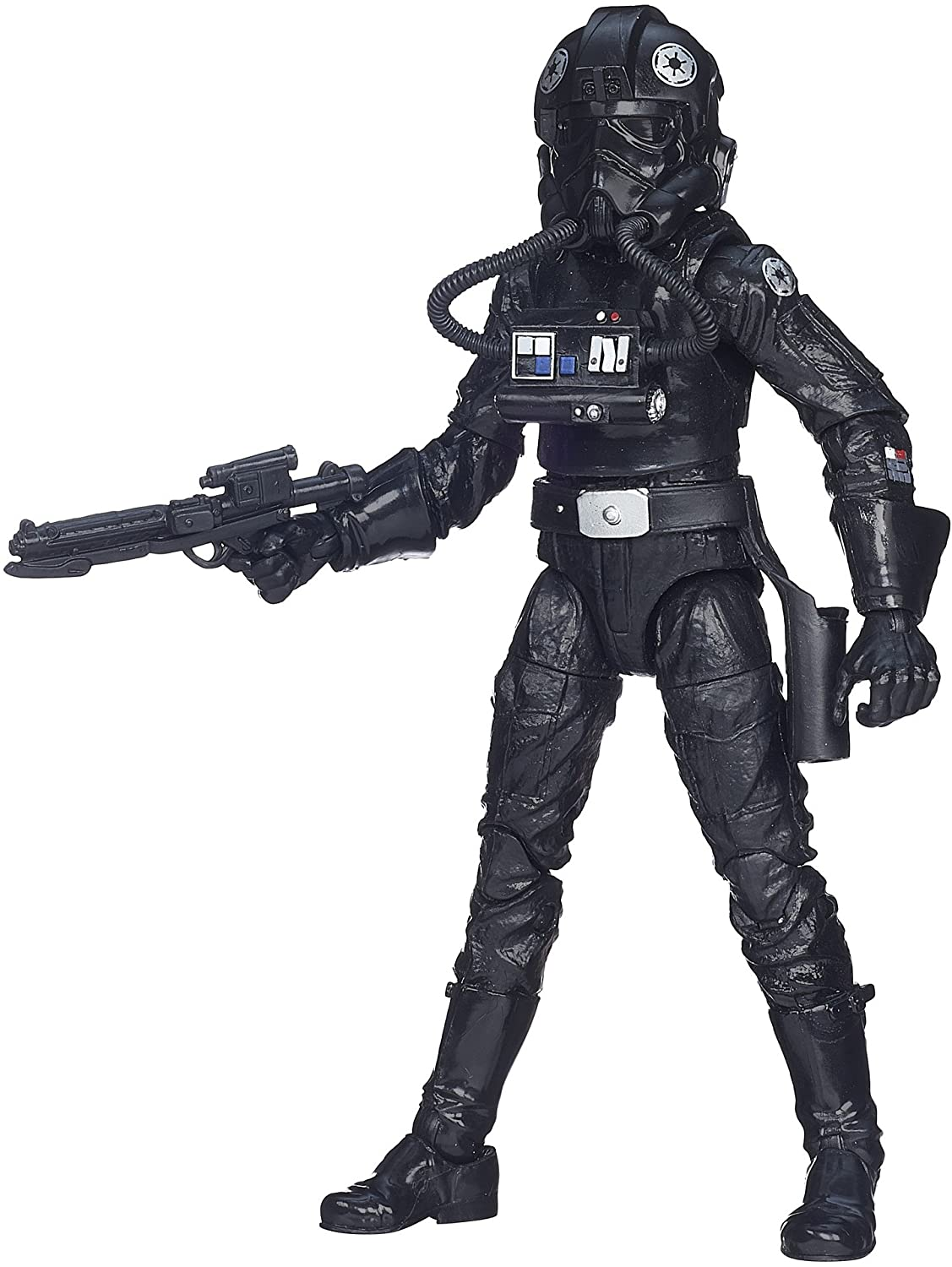Action Figure Imperial Tie Fighter Pilot: Star Wars (The Black Series) (40 Anos O Império Contra-Ataca) (40th The Empire Strikes Back) E8083 - Hasbro