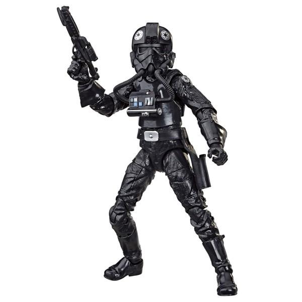 Action Figure Imperial Tie Fighter Pilot: Star Wars (The Black Series) (40 Anos O Império Contra-Ataca) (40th The Empire Strikes Back) E8083 - Hasbro