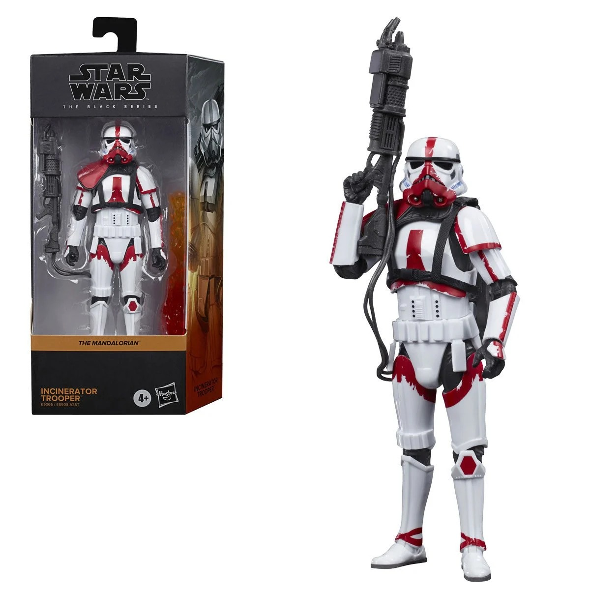 Action Figure Incinerator Trooper: Star Wars The Black Series The Mandalorian E9366 - Hasbro