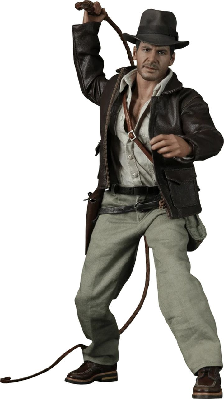 Action Figure Indiana Jones: Indiana Jones e Os Caçadores da Arca Perdida Escala 1/6 (DX05) - Hot Toys (USADO E SEM CAIXA)