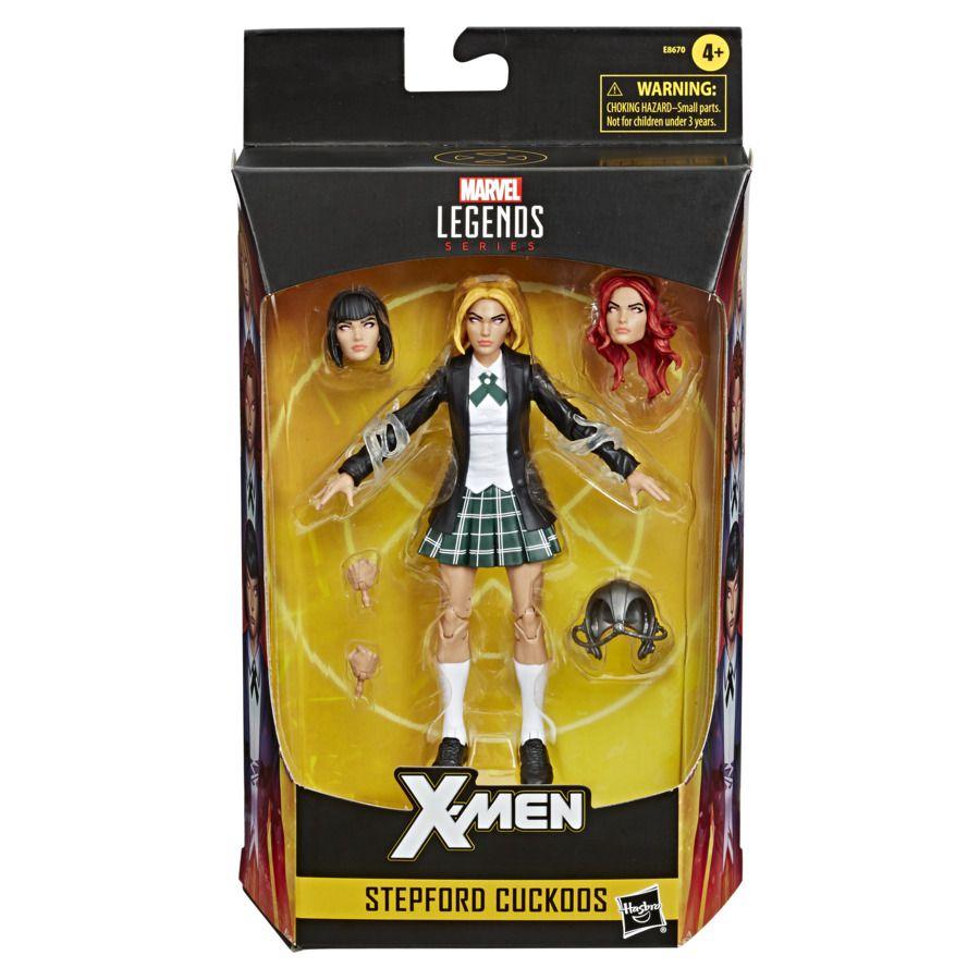 Action Figure Irmãs Stepford (Stepford Cuckoos): X-Men -  Marvel Legends Series - Hasbro