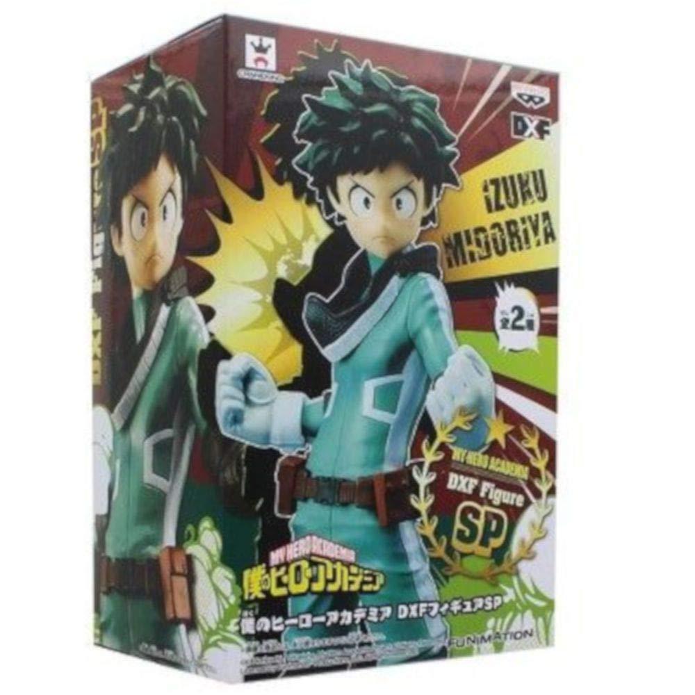 Action Figure Izuku Midoriya (DXF): Boku no Hero Academia (My Hero Academia) Boneco Colecionável Anime Mangá - Banpresto Bandai