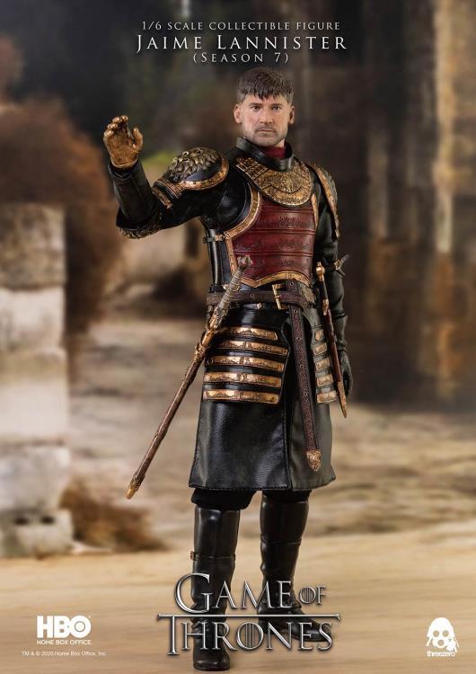 Pré Venda: Action Figure Jaime Lannister Season 7: Game Of Thrones Escala 1/6 - Threezero