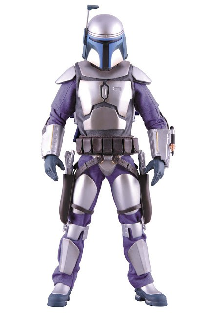 Action Figure Jango Fett Geonosis Version Real Action: Star Wars - Medicom Toys