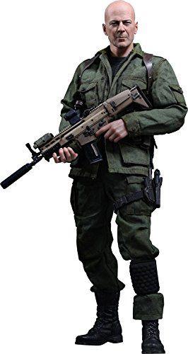 Action Figure Joe Colton: G.I. Joe Retaliação (G.I. Joe Retaliation) Escala 1/6 (MMS206) Boneco Colecionável - Hot Toys