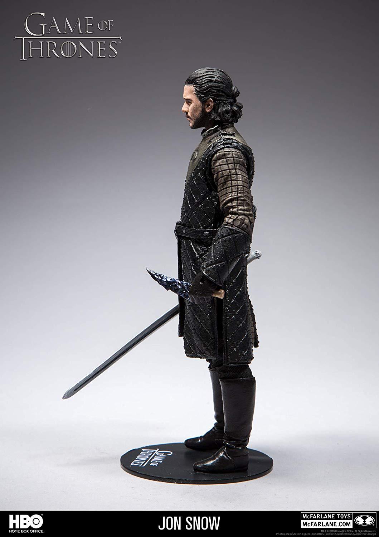 Action Figure Jon Snow : Game of Thrones - Boneco Colecionável - McFarlane